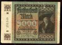 ALLEMAGNE   5000 mark 1922  ( 251549 )