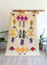 Beni Ourain rug Moroccan Rug Azilal Rug Colorful wool berber carpet handmade rug