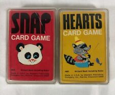 Lot Of Vintage Cards Game Golden Western Publishing 4904 Matching EUC Children's