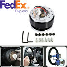 Raceing Car Steering Wheel Ball Quick Release Hub Adapter Snap Off Boss Kit Us