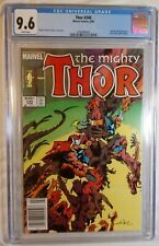 THOR #340 CGC 9.6 NEWSSTAND VARIANT WHITE PAGES! 4TH BETA RAY BILL! 1984 338 339