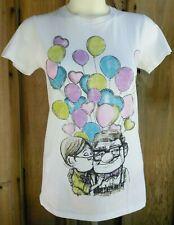Disney UP Adventure CARL & ELLIE Balloons Women's SMALL S Graphic Shirt NWT