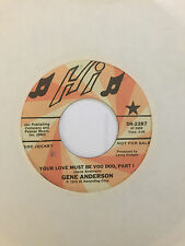 """GENE ANDERSON 45: """"YOUR LOVE MUST BE VOO DOO"""" PART 1 & 2 PROMO 1975"""
