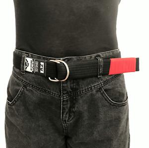 GiStoreRocks Jiu Jitsu Black Belt for Everyday BJJ Jeans Belt S M L Size