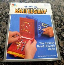 1984 Milton Bradley Travel Game  Battleship Naval Strategy Game