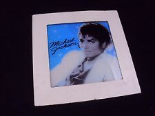 "Michael Jackson Carnival Prize Thriller Album Cover Glass 6"" x 6"""