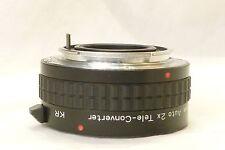 ALBINAR ADG AUTO 2X tele CONVERTER 851 Japan for 35mm slr PENTAX KR K,R MOUNT
