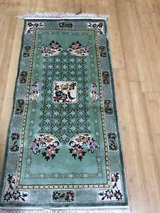Spectacular Silk Pile Oriental Rug .