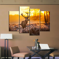 Not Framed Modern Canvas Print Milu Deer Animal Home Decor Wall Art Pictures