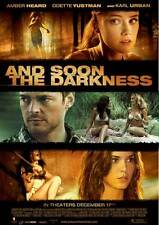AND SOON THE DARKNESS Movie POSTER 27x40 Vincent Cassel Olivier Barthelemy