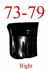 73 79 Ford RIGHT Cab Floor Assembly, Regular Cab, Super Cab, Truck, 78 79 Bronco
