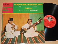 VILAYAT KHAN & BISMILLAH KHAN -Duets- LP Music From India Series - 1