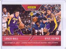 2017-18 Panini Instant #59 Lonzo Ball Kyle Kuzma Dual Rookie - Only 154 made!