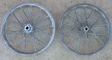 Vintage RARE NOS 1980's LESTER Laced Aluminum BMX Bike Wheel Pair OLD SCHOOL NEW