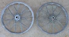 Vintage RARE NOS 1980's LESTER Laced Aluminum BMX Bike Wheel Pair OLD SCHOOL NEW