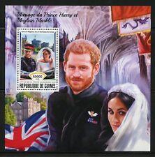 GUINEA  2018 MARRIAGE OF PRINCE HARRY & MEGHAN MARKLE  SOUVENIR SHEET MINT NH