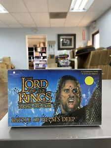 Lord of the Rings Battle of Helm's Deep Factory Sealed Box 36 Packs 11 cards per