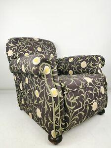 Antique Victorian 19th Century William Morris Armchair / Library Chair