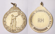 CROATIA  Homeland War Memorial Medal  SPOMENICA  - missing ribbon