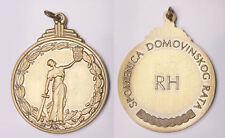 CROATIA  Homeland War Memorial Medal  SPOMENICA  - missing ribbon