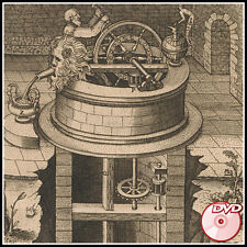 AMAZING Medieval Machines Inventions - Beautiful PLATES Tech - RAMELLI - 3 DVD's
