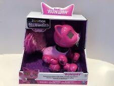Meowzies Posh Cattitude Purple Cat Kitty Kitten Zoomer Interactive Pet Toy NEW