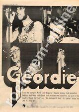 Geordie Hope You Like It EMC 3001 MM3 LP advert 1973