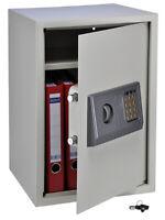 Elektronischer Safe Geldschrank Möbeltresor Wandtresor Wandsafe  34,5x30x49,5 cm