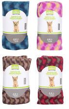 Coperta pile cane gatto plaid caldo lavabile copridivano animali 90x120 cm 95659