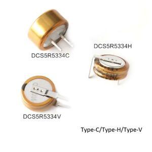 Farad Capacitors 5.5V 0.33F Super Capacitors DCS5R5334 Type-C Type-H Type-V