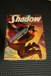 """Original 1937 """"The Shadow"""" magazine, Dec 15th issue, Details Below"""