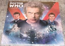 Sealed New 2017 Doctor Who Wall Calendar 12 x 12 - Free USA Shipping!