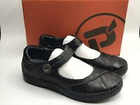 """Propet """"Blythe"""" Mary Jane Size 7.5 M Women's Leather Shoes Black W6048 NEW"""