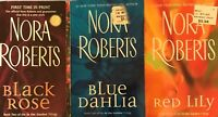 complete trilogy IN the GARDEN Nora Roberts romance