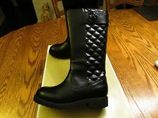 "Michael Kors ""Dhalia-loudi""  Black Boots Girl Size 1 NIB"
