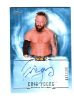 WWE Eric Young 2017 Topps Undisputed Blue On Card Autograph SN 7 of 199