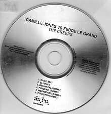 "CAMILLE JONES vs FEDDE LE GRAND ""THE CREEPS"" 6-TRACK DATE RECORDS DJ PROMO CD"