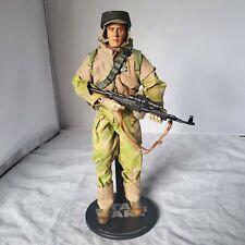 "SIDESHOW STAR WARS Endor Infantryman 12"" 1/6 ACTION FIGURE REBEL COMMANDO LOOSE"