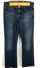 Lucky Brand (Y-08) Women's Sz 4/27 Blue Jeans Flare Leg Stretch Made in USA