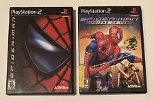 LOT SPIDER-MAN & Spiderman Friend Or Foe PlayStation 2 PS2 Complete TESTED