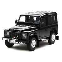 Kyosho 1/18 Scale Land Rover Defender 90 Black Diecast Model Car Toy Gift