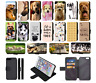 DOG CUTE PUPPY QUOTE Wallet Flip Phone Case Cover Galaxy S5 S6 S7 S8 S9 S10 Plus