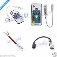 12V LED 4pin MINI Dimmer Control Controller For RGB 5050 3528 LED Strip Light