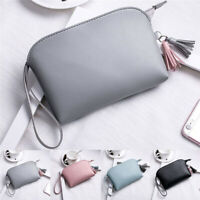 1PC Cosmetic Bag Purse Makeup Toiletry Pouch Travel Bag Tassel Traveling Case
