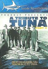 Tribute to Tuna - Part II (DVD, 2011) Inside Sportfishing NEW