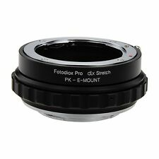 Fotodiox Obiettivo Adattatore DLX stretch for Pentax K Lens to Sony Alpha E-Mount