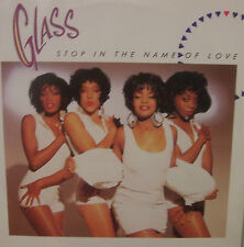 "GLASS - Stop In The Name Of Love ~ 12"" Single PS"
