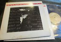 David Bowie STATION TO STATION LP rca apl1-1327 rare vinyl wow 1976 tan label !!