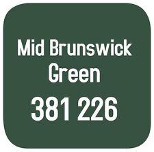 BRITISH STANDARD 381C 226 CELLULOSE PAINT  MID BRUNSWICK GREEN 5L