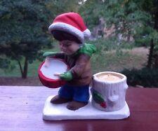 Vintage Verona Vergasi Drummer Boy Candle Holder Ceramic Tea Light Holder